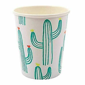 Cactus papier partij cups x 12 partij viering