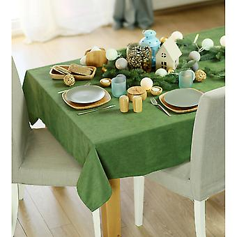 """104"""" Frohe Weihnachten Rechteck Tischdecke in grün"""