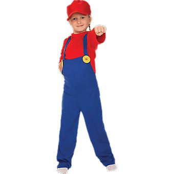 Orion Costumes Kids Super Mario 80s Retro Video Game Fancy Dress Costume