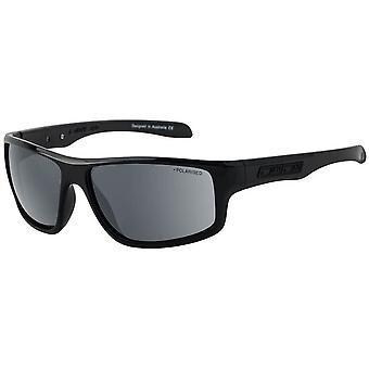 Dirty Dog Quantum Satin Polarised Sunglasses - Black/Grey