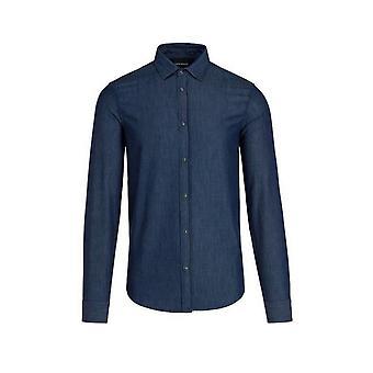 Emporio Armani Shirt Slim Fit 6g1c67 1d5wz