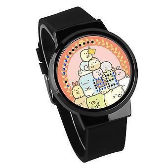 Waterproof Luminous LED Digital Touch Children watch  - Sumikkogurashi #56