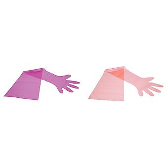 Neogen Unisex Взрослый заводчик плечо перчатки (пакет 100)