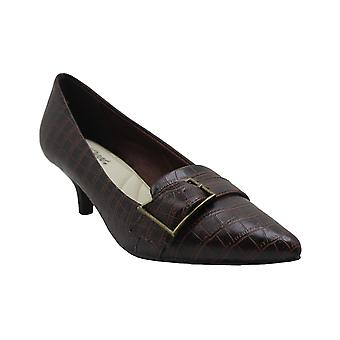 Easy Street Womens exquisite Fabric Pointed Toe Classic Pumps