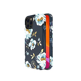 iPhone 12 and iPhone 12 Pro Case Blue Flowers Gardenia