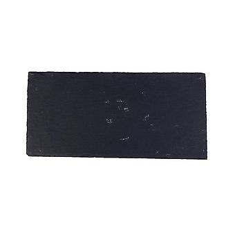 Natural Black Western Slate Bbq Plate Stone Dishes - Solid Square Sushi Steak