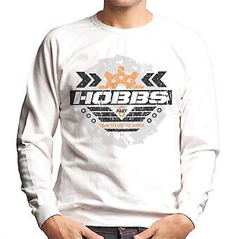 Nopea ja raivoisa Hobbs Aika mennä töihin Men's Collegepaita