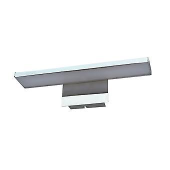 Moderne LED-fotolamp Chroom, Warm Wit 3000K 400lm
