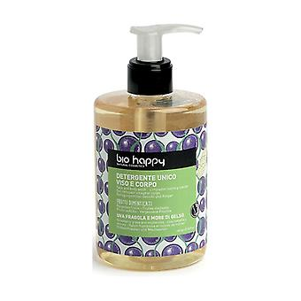Face and body cleanser, grape, strawberry and mulberry 300 ml