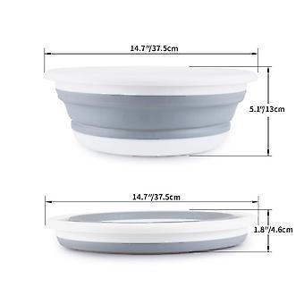 Wash Bucket, Creative Plastic Foldable Portable  Washing  Tool