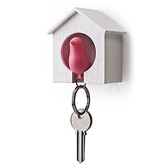 Sparrow Keychain Key Holder