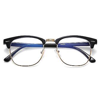 Puolireunaton, anti sininen valo ray silmälasit kehykset