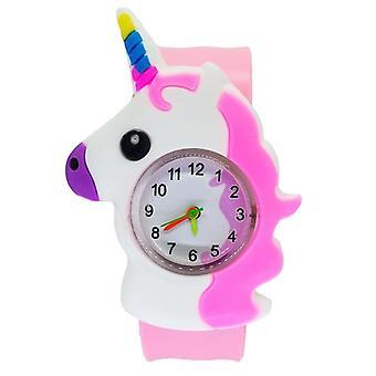 Producenter Kids ure Cartoon Dinosaur Animal Lås Circle Baby Clock