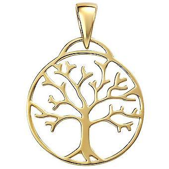 Anfänge der Lebensbaum Anhänger - Gold