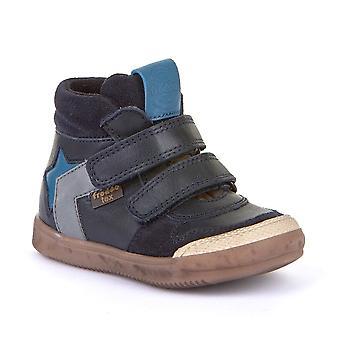 FRODDO Velcro Short Boot Navy Blue