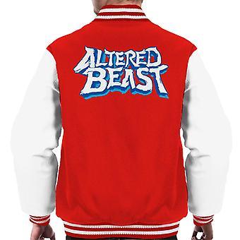 Sega Altered Beast Logo Men's Varsity Jacket