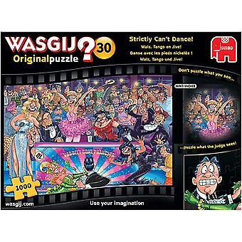 Wasgij Original-30 Strictly Cant Dance Jigsaw Puzzle - 1000 Pieces