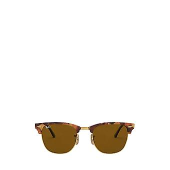 Ray-Ban RB3016 spotted brown havana unisex sunglasses