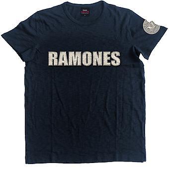 Ramones Logo & Presidential Seal Offisiell Tee T-skjorte Unisex