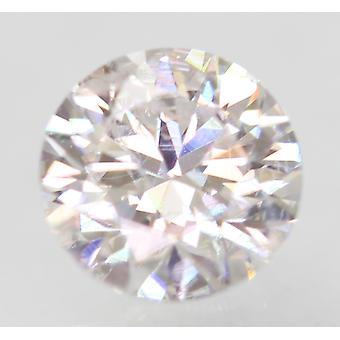 Sertifioitu 0,55 karat D VS1 pyöreä brilliant parannettu luonnollinen löysä timantti 5,31mm