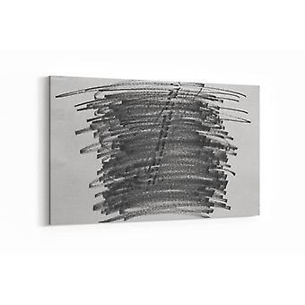 Schilderij - Abstracte kunst op papier — 100x70cm