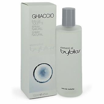 Byblos Ghiaccio par Byblos Eau De Toilette Spray 4 oz/120 ml (femmes)