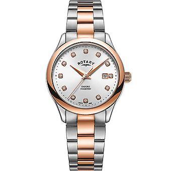 Ladies Watch Rotary LB05094/70/D, Quartz, 32mm, 5ATM