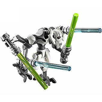 Single Starwars General Grievous Figures Blocks Compatible With Models Building