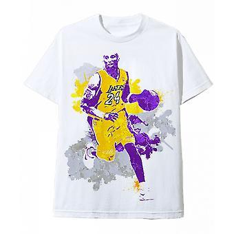 Wit T-shirt Kobe Bryant Brush