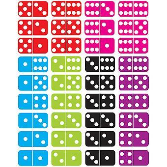 Dominos magnétiques die-cut, 36 pièces