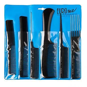 Eurostil Professional 6 Combs -kotelo