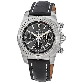 Breitling Chronomat B01 Chronograph Automatic Grey Dial Men's Watch AB0115101F1P2