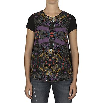 Custo Barcelona Women T-shirt Knight Canyon Multicolor