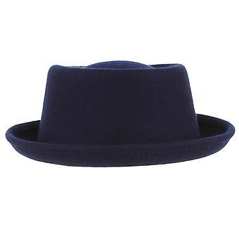 Wool Hat Curved Brim