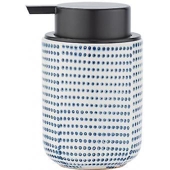 tvåldispenser Nole 300 ml keramisk blå/vit