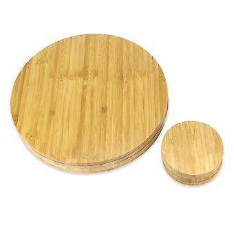 Placemats e Montanhas-russas do Círculo de Bambu | M&W