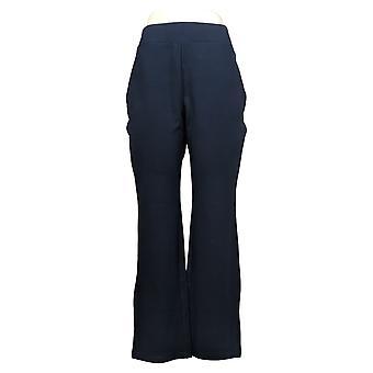 IMAN Global Chic Women's Pants 360 Slim Ponte Boot-Cut Pant 722609790