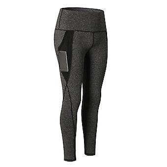 YANGFAN المرأة عالية الخصر اليوغا Leggings Sweatpants تمتد السراويل