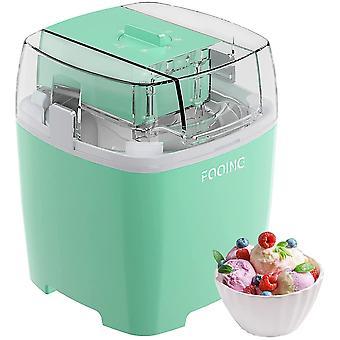 Wokex Ice Cream Maker Speiseeisbereiter, 1,5L Softeismaschine für Zuhause mit Drehknopf,