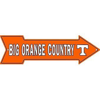テネシー州ボランティアNCAAビッグオレンジカントリーアローサイン
