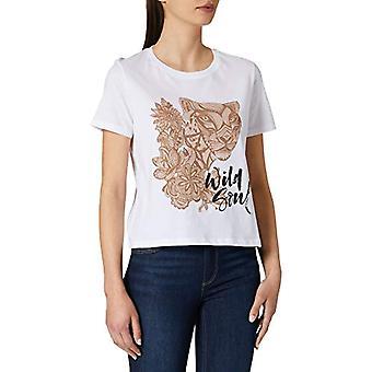 LTB Jeans Liseda T-Shirt, White 100, S Woman