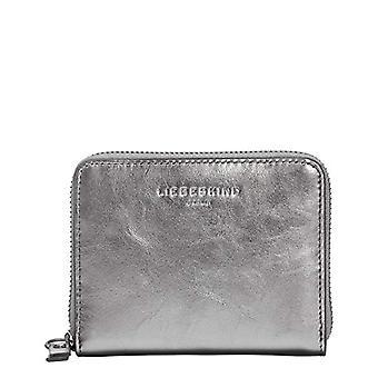 Liebeskind Berlin Damen ConnyC20-NOOSMe Reisezubehor- Brieftasche, Silver lead-9626, Small