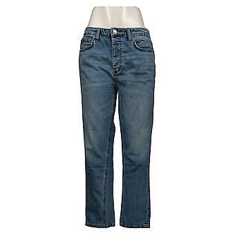Sam Edelman Women's Jeans The Mary Jane Boyfriend Blue A448966