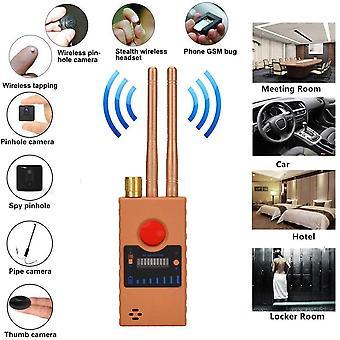RF-signaalinpaljastin, langaton vikailmaisimen signaali vakoilukameroiden havaitsemiseksi, salakuuntelulaitteet, GPS-paikannin (musta)