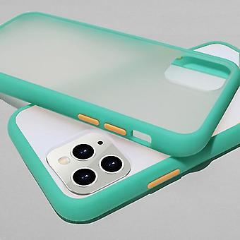 Minttu yksinkertainen matta puskuri puhelimen kotelo Iphone Set-7