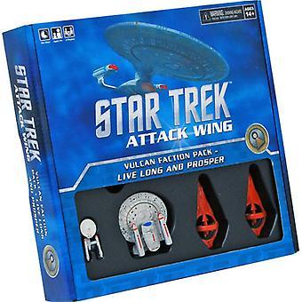 Star Trek Attack Wing: Vulcan Faction Pack - Elä pitkään ja vauras laajennuslautapeli