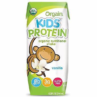 Orgain Pediatric Oral Supplement Orgain Kids Protein Organic Nutritional Shake Vanilla Flavor 8? oz. Cart, 1 Each