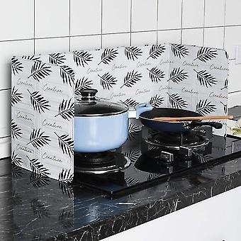 Aluminum Foldable Kitchen Gas Stove Baffle Plate Kitchen