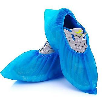 Disposable Shoe Covers Dust Proof , 50 Pair(Blue)