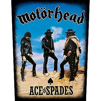 Motorhead - Patch posteriore asso di picche